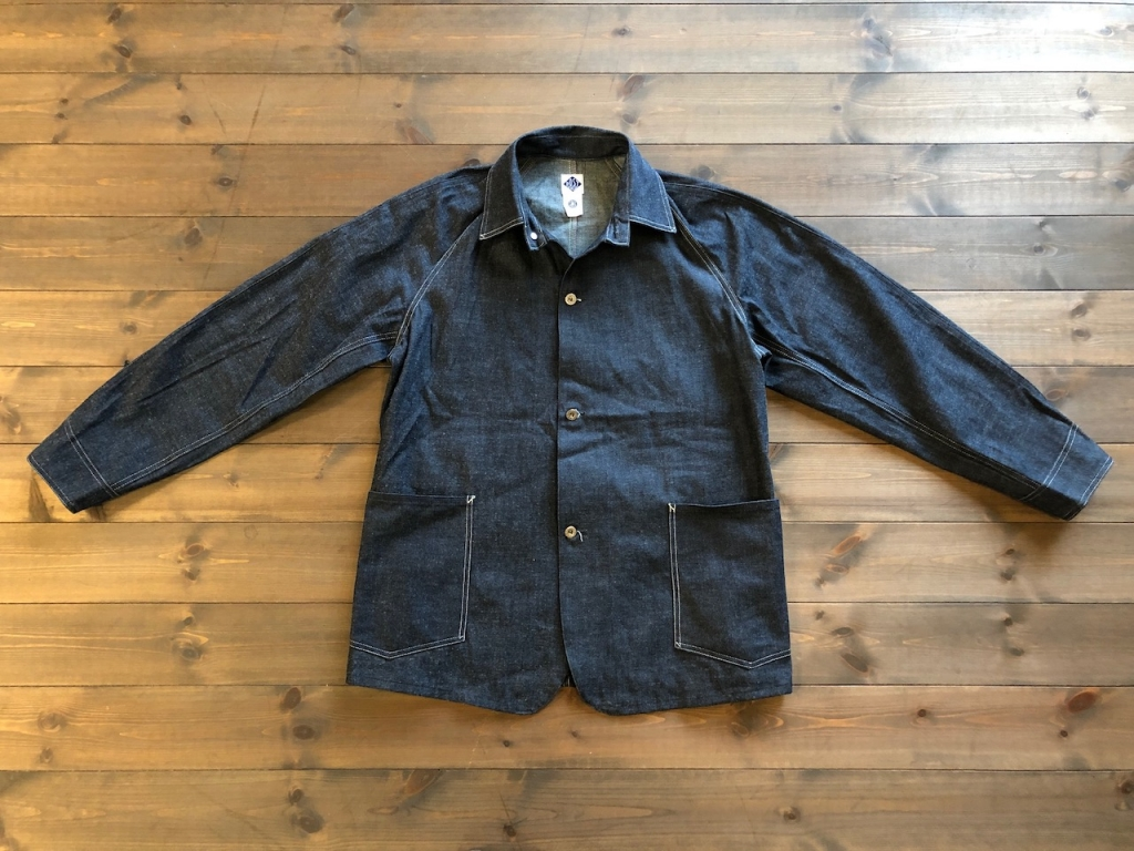 CARLOS〜2 pocket Coverall Jacket