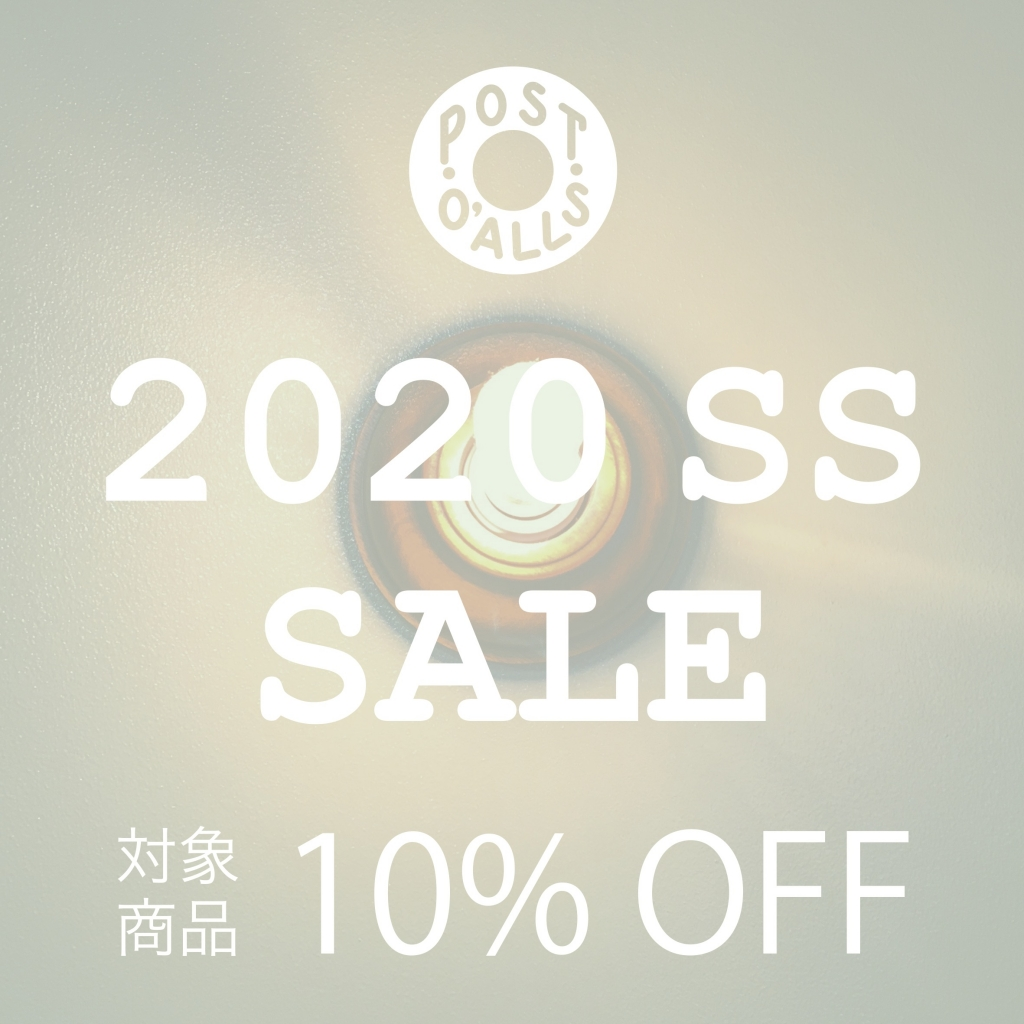 2020 SS COLLECTION 10% OFF SALE